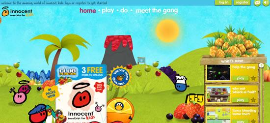 Innocent Interactive Website