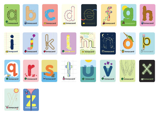 Innocent Alphabet Magnets