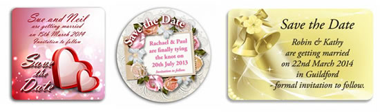 Save the Date Magnet Ideas