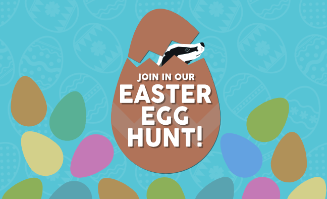 Join in the Badger Design Easter Egg Hunt!